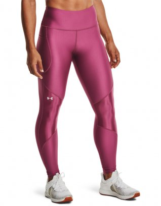 UA HG Armour Shine Leggings NS Różowy