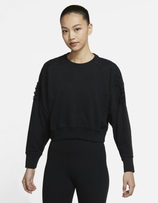 Nike Women's Cropped Fleece Training Crew