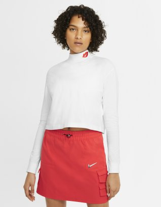 Nike Sportswear Women's Long-Sleeve Mock T-Shirt